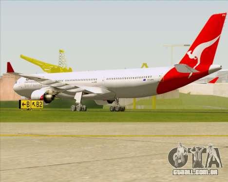 Airbus A330-300 Qantas para GTA San Andreas vista direita