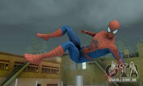 The Amazing Spider Man 2 Oficial Skin para GTA San Andreas