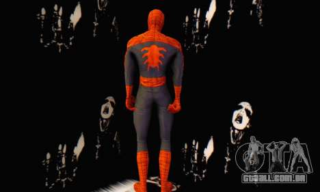 Skin The Amazing Spider Man 2 - Suit Edge Of Tim para GTA San Andreas segunda tela