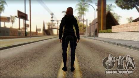 Mass Effect Anna Skin v10 para GTA San Andreas segunda tela