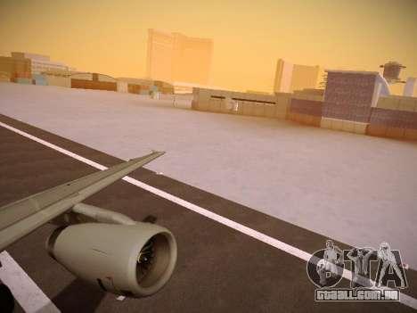 Airbus A319-132 Germanwings para GTA San Andreas vista interior