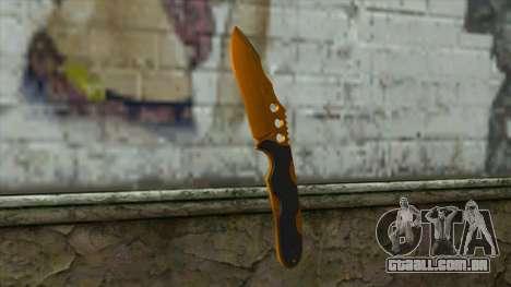 Nitro Knife para GTA San Andreas