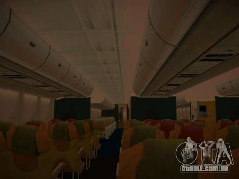 Airbus A380-800 Thai Airways International para as rodas de GTA San Andreas