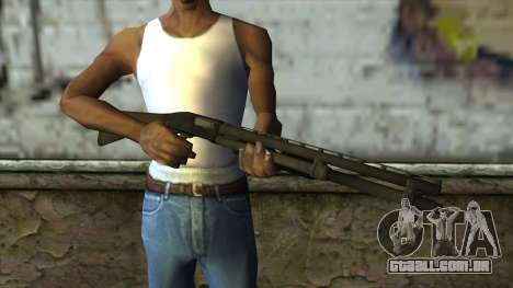 Reinfeld 880 from Pay Day 2 v1 para GTA San Andreas terceira tela