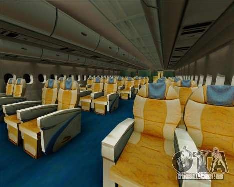 Airbus A380-861 Qatar Airways para as rodas de GTA San Andreas