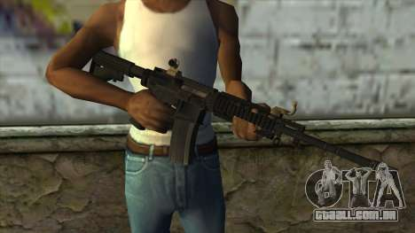 CAR-4 from Pay Day 2 para GTA San Andreas terceira tela