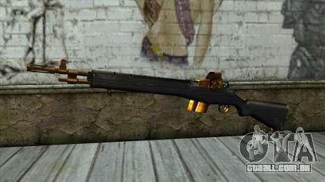 Nitro Rifle para GTA San Andreas