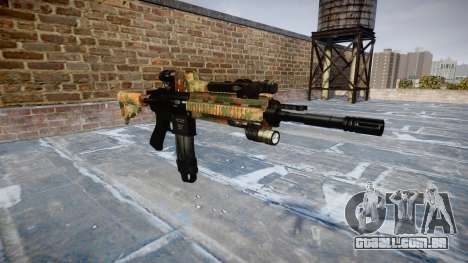 Automatic rifle Colt M4A1 selva para GTA 4