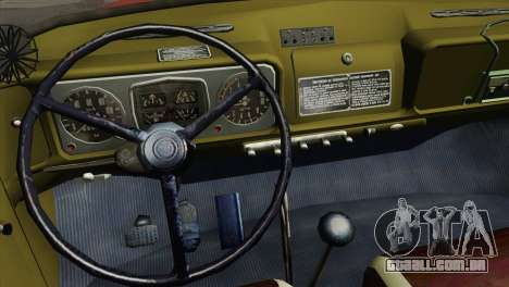 ZIL 131 - AL para GTA San Andreas vista interior