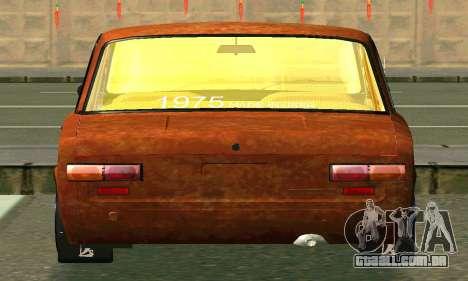 VAZ 2101-Rato olhar para vista lateral GTA San Andreas