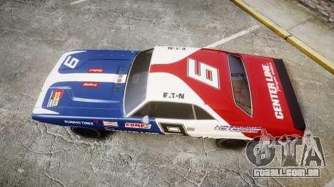 Dodge Challenger 1971 v2.2 PJ10 para GTA 4 vista direita