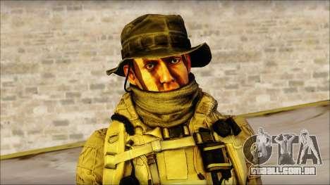 Recon from BF4 para GTA San Andreas terceira tela