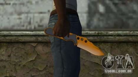 Nitro Knife para GTA San Andreas terceira tela