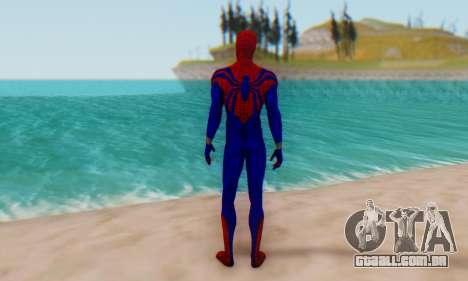 Skin The Amazing Spider Man 2 - Ben Reily para GTA San Andreas terceira tela
