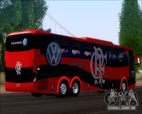 Busscar Elegance 360 C.R.F Flamengo para GTA San Andreas traseira esquerda vista
