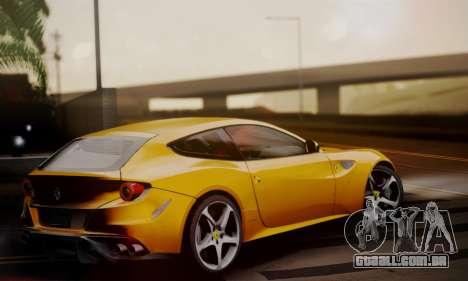 Ferrari FF 2012 para GTA San Andreas esquerda vista