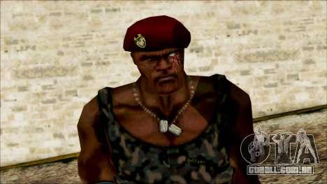 Manhunt Ped 20 para GTA San Andreas terceira tela