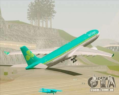 Airbus A330-300 Aer Lingus para GTA San Andreas