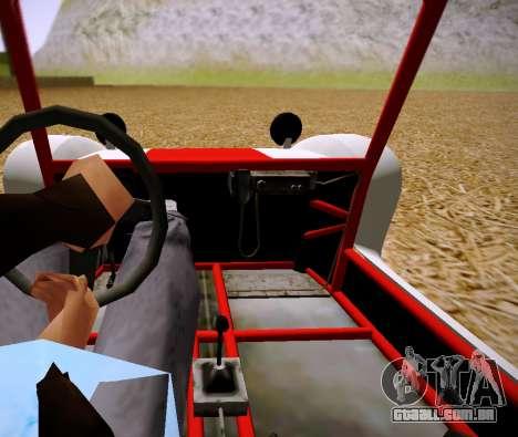 GTA 5 Bifta para GTA San Andreas traseira esquerda vista