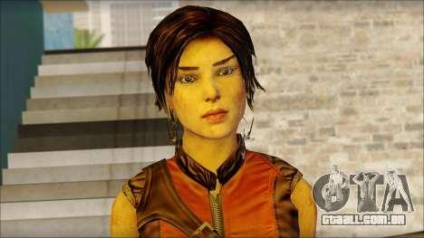Tomb Raider Skin 5 2013 para GTA San Andreas terceira tela