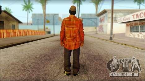 Eazy-E Red Skin v1 para GTA San Andreas segunda tela