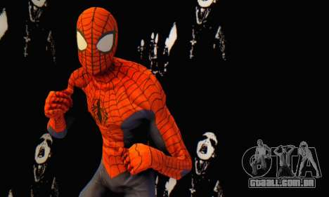 Skin The Amazing Spider Man 2 - Suit Edge Of Tim para GTA San Andreas por diante tela