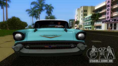 Chevrolet BelAir 1957 para GTA Vice City vista direita