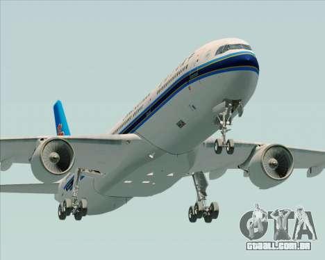 Airbus A330-300 China Southern Airlines para vista lateral GTA San Andreas