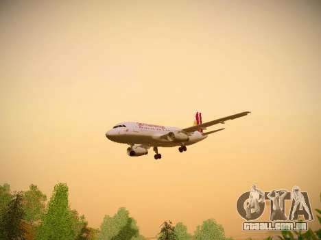 Airbus A319-132 Germanwings para GTA San Andreas interior