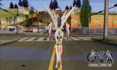Starscrim from Transformers Prime para GTA San Andreas segunda tela