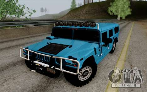 Hummer H1 Alpha 2006 Road version para GTA San Andreas