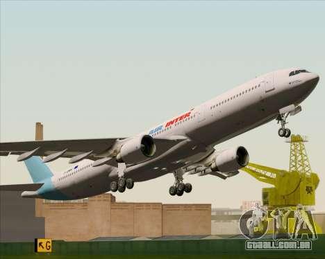 Airbus A330-300 Air Inter para vista lateral GTA San Andreas