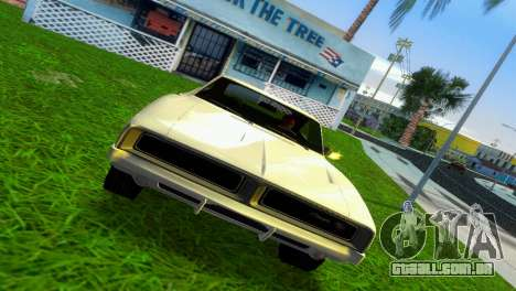 Dodge Charger 1967 para GTA Vice City deixou vista