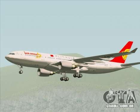 Airbus A330-200 Air China para GTA San Andreas