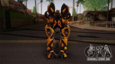 Bumblebee TF2 para GTA San Andreas segunda tela