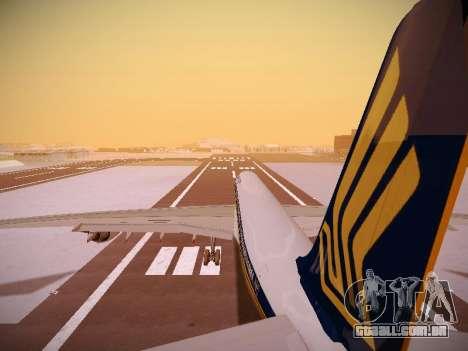Airbus A340-600 Singapore Airlines para GTA San Andreas