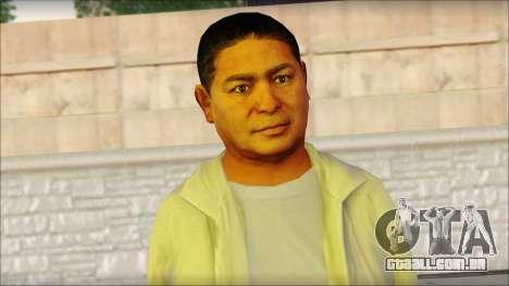 GTA 5 Ped 10 para GTA San Andreas terceira tela