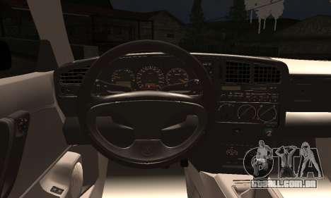 Volkswagen Corrado para GTA San Andreas traseira esquerda vista
