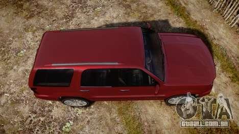 GTA V Albany Cavalcade 2 para GTA 4 vista direita
