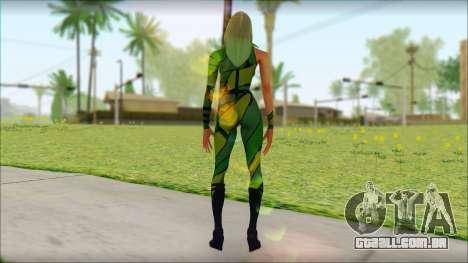 Vertigo Deadpool The Game Cable para GTA San Andreas segunda tela