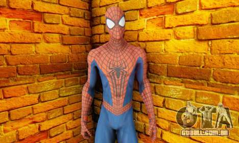 The Amazing Spider Man 2 Oficial Skin para GTA San Andreas terceira tela