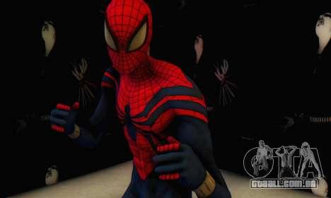 Skin The Amazing Spider Man 2 - Suit Ben Reily para GTA San Andreas segunda tela