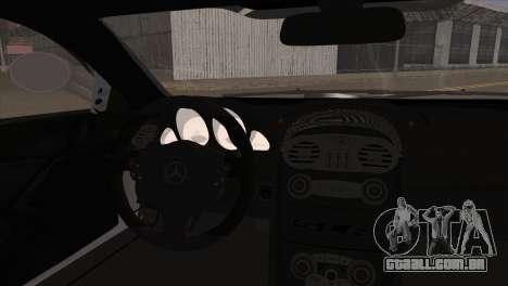 Mercedes-Benz SLR 722 para GTA San Andreas traseira esquerda vista