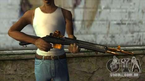 Nitro Rifle para GTA San Andreas terceira tela