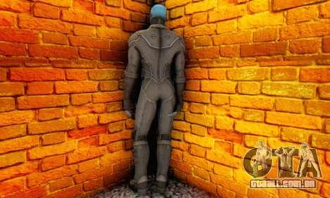 Skin Electro From The Amazing Spider Man 2 para GTA San Andreas segunda tela