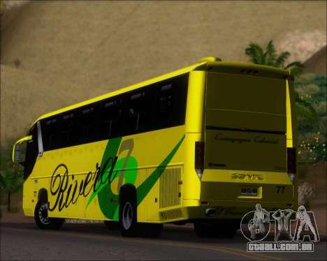 Comil Campione 3.45 Scania K420 Rivera para GTA San Andreas vista inferior