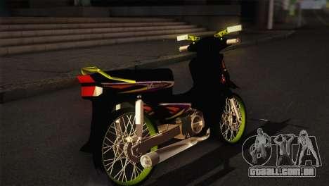 Honda Astrea para GTA San Andreas traseira esquerda vista