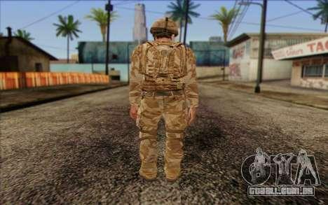 Soldados britânicos (ArmA II: BAF) v2 para GTA San Andreas segunda tela