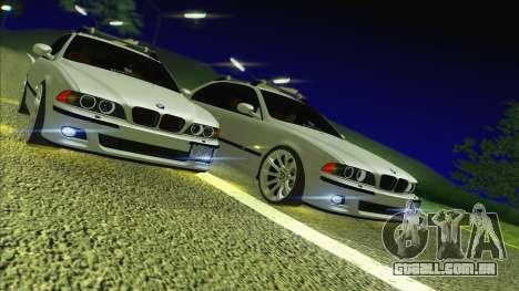 BMW M5 E39 2003 Stance para GTA San Andreas vista traseira