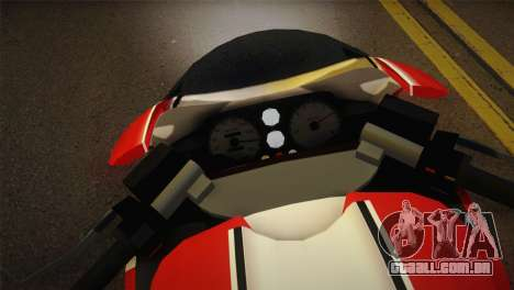 Bati RR 801 para GTA San Andreas traseira esquerda vista